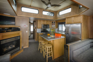 Happy Days Houseboats Luxury Model Galley