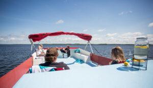Happy Days Houseboats - 10 Sleeper Houseboat rooftop