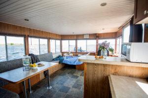 Happy Days Houseboats - 10 Sleeper main cabin